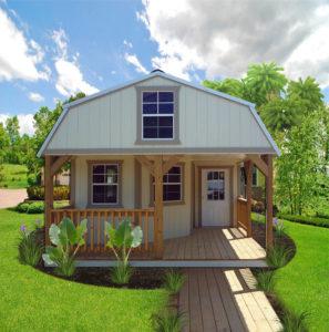 Lofted Cabin | Portable Building