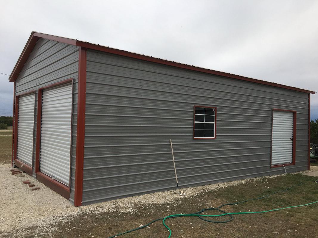 Metal Garages Carports Portable Storage Buildings San